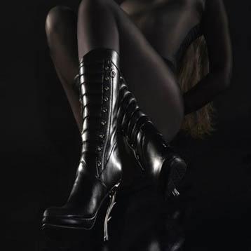 Werbefotograf Köln - Modefotografie Schuhe mit Model