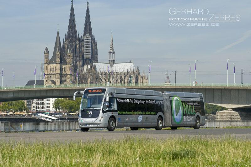 Produktfotografie und Stills für RVK Wasserstoff Bus, Fotograf Köln Portfolio